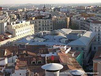 Cortes (Madrid) - Image: Vistas desde el CBA (6274945798)