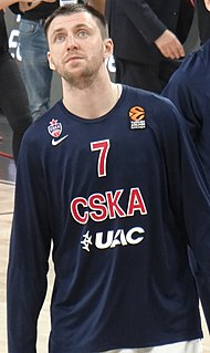 Russian professional basketball player