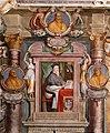 Viterbo, palazzo dei priori, sala regia o erculea, con affreschi di baldassarre croce, 07,2 Egidio da Viterbo.jpg