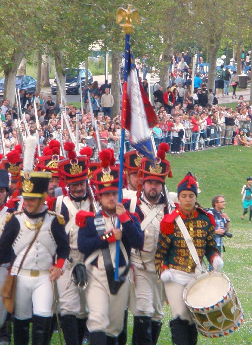 Vitoria - Recreación histórica de la Batalla de Vitoria, bicentenario 1813-2013 015