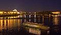 Vltava river at night - Prague, Czech Republic - panoramio.jpg