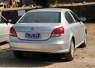 Volkswagen Lavida - 2009 Volkswagen Lavida rear (China)