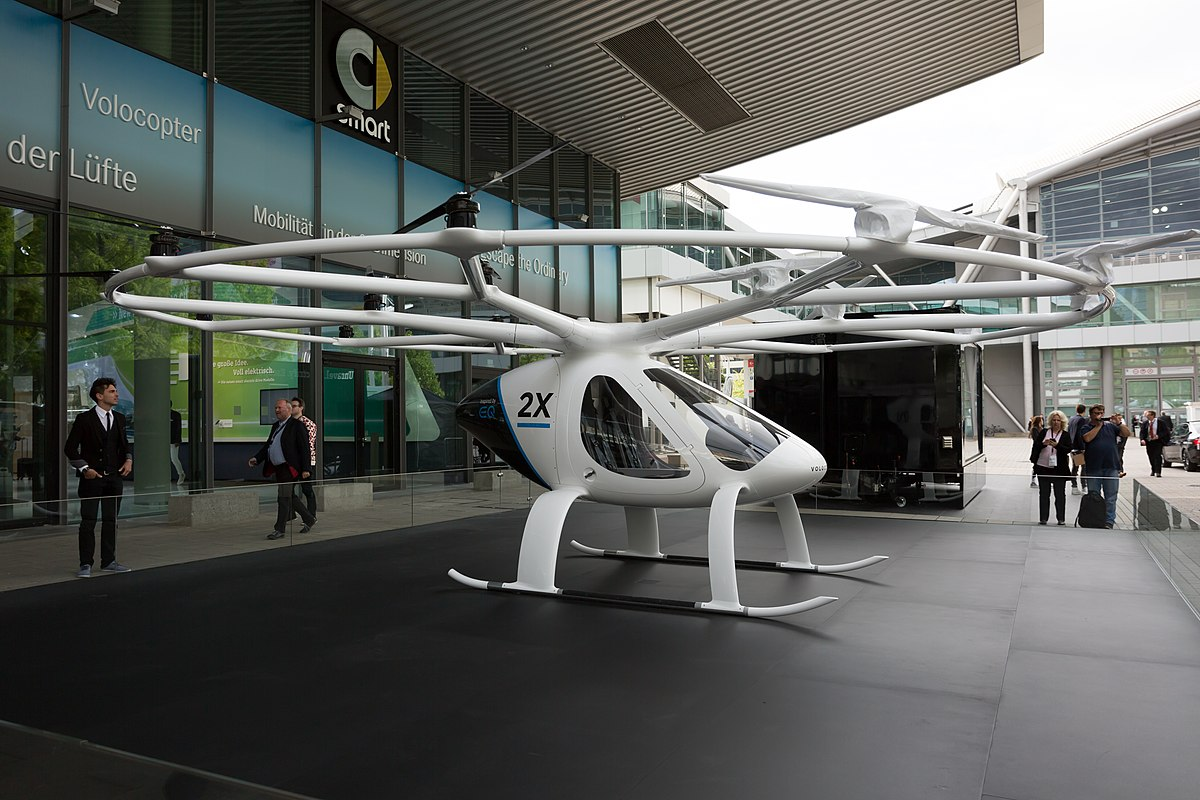 Volocopter | wikimedia.org