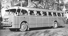 L'autobus Volvo B 615 (1958)