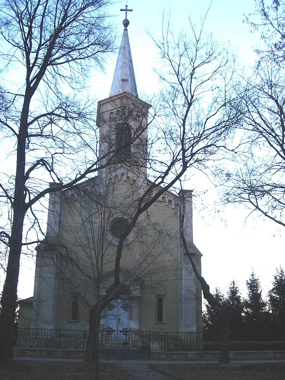 Vrbas, Catholic Church