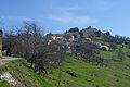 Vue sur le village de Saint-Antonin en venant du vallon de La Penne.JPG