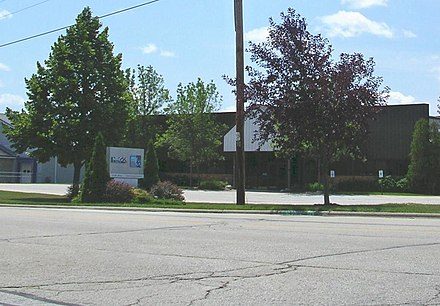 The studios of WGBA-TV and WACY-TV in 2007