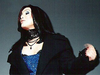 "Believe (Cher song) - Cher performing ""Believe"" on the WKTU's ""Miracle on 34th Street"" show in New York City on December 11, 1998."