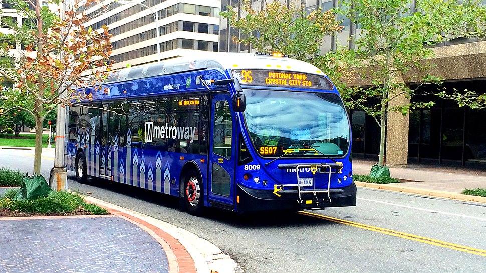 Metrobus Washington D C Howling Pixel