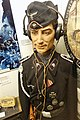 WW2 Norway. German uniform Wehrmacht Heer Panzertruppen Tank crewman Totenkopf insignia sidecap Schütze lanyard headphones throat microphone Iron cross Panzer General Assault Wound badge Tobakk 1944 mannequin etc Lofoten Krigsminnemu.jpg
