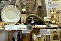 WW2 in Norway. Misc Nazi German SS items etc. Terboven's Porsgrunds porcelain, sabotaged Totenkopf cap, Gerhard Flesch whip, Rinnan gift, SS ring, matches, SS cast cliche runes, Lofoten Krigsminnemuseum, Norway 2019-05-08 DSC09987.jpg