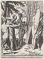Waarheid beschermt de gelovige tegen al het kwaad Triomf van de waarheid (serietitel), RP-P-1911-432.jpg