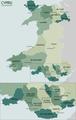 Wales Administrative 2009 v5 Welsh.png