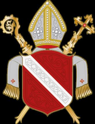 Roman Catholic Diocese of Regensburg - Coat of arms of the Diocese of Regensburg