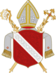 Coat of arms of the diocese of Regensburg