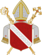 Coat of arms of Regensburg, Bishopric
