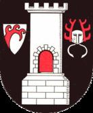 Das Wappen von Blankenburg (Harz)