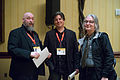 Warren Ellis, Daniel Suarez and Bruce Sterling 2014.jpg