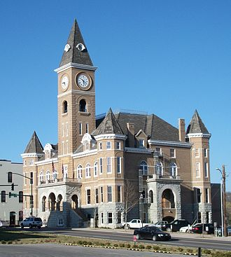 Washington County, Arkansas - Image: Washington County Courthouse, Arkansas