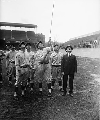 History of the Washington Senators (1901–1960) - Image: Washington baseball LCCN2016894152 (cropped)