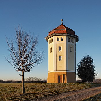 Hohenstadt water tower, Baden-Württemberg, Germany