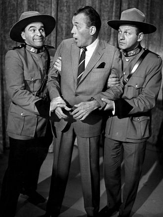 Wayne and Shuster - The Mounties get their man when Ed Sullivan brought his show to Toronto in 1963.