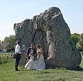 Wedding photo opportunity, Avebury - geograph.org.uk - 1346020.jpg