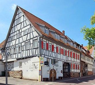 Gerlingen - Half timbered house
