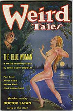 Weird Tales cover image for September 1935