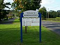 Welcome to Waringstown Sign. - geograph.org.uk - 567696.jpg