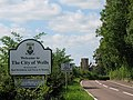 Welcome to Wells - geograph.org.uk - 540240.jpg