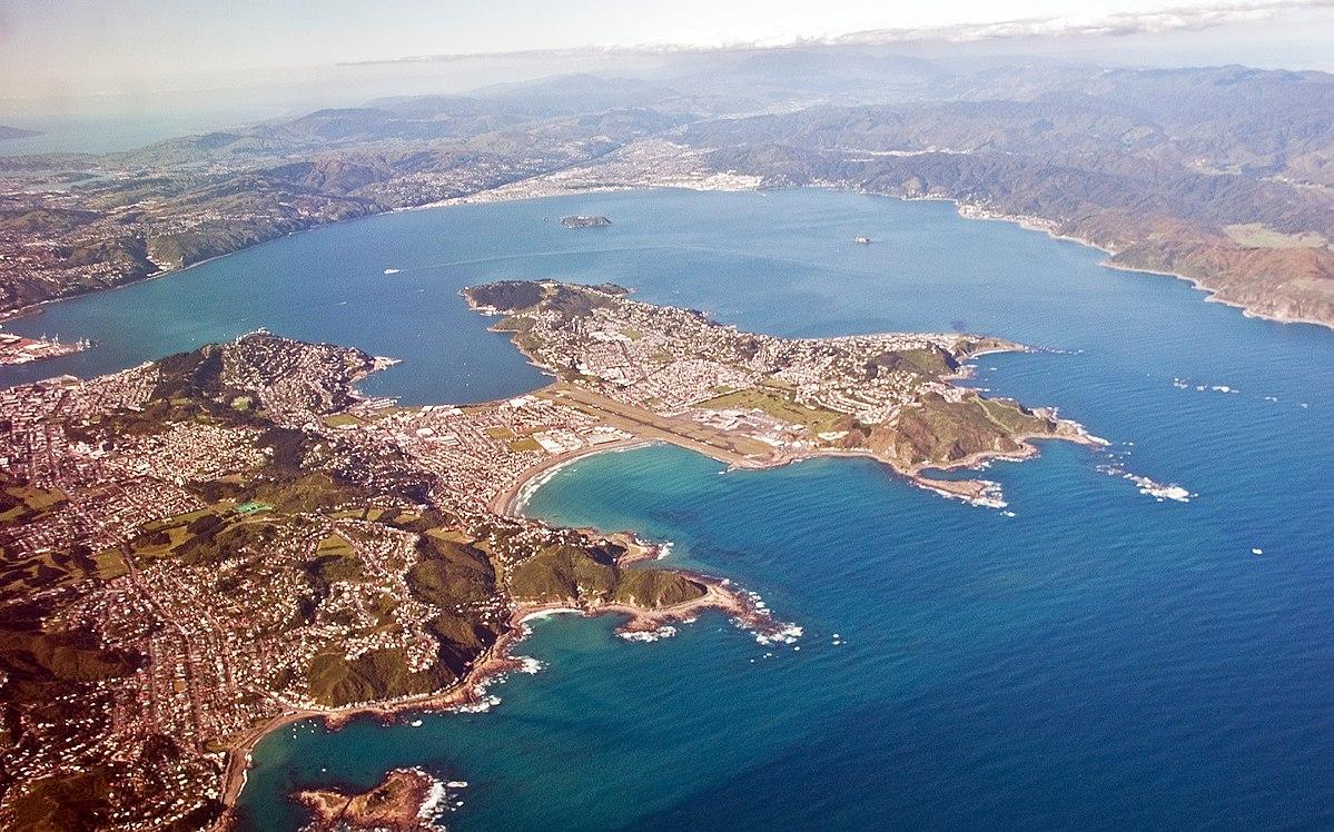Teroris New Zealand Wikipedia: Wellington Harbour