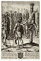 Wenceslas Hollar - Aeneas erects a trophy of the weapons of Mezentius (State 2).jpg