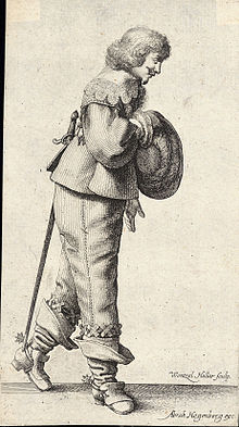 Wenceslas Hollar - The bowing gentleman (State 2).jpg