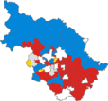 West Riding County Council election, 1952.png