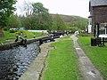 West Summit Lock No 37, Rochdale Canal - geograph.org.uk - 859095.jpg