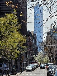 West Village Neighborhood of Manhattan in New York City