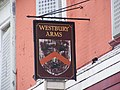 Westbury Arms sign, King Edwards Road, Barking - geograph.org.uk - 1296480.jpg
