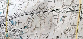 Western Pacific Railroad - Western Pacific in Nevada 1931