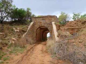 Pretoria Forts - The main entrance of Fort Daspoortrand