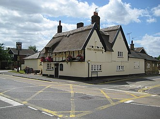 Westoning - The Chequers, on Park Road