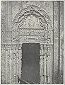 Westportaal van de kathedraal van Chartres Cathédrale de Chartres Côte Occidental Porte Laterale de droite XII Siècle (titel op object) Monographie de la Cathédrale de Chartres (..), Parijs 1867 (serietitel), RP-F-F80042.jpg