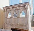 Wexford St. Iberius Church Prayer Desk 2012 10 03.jpg