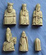Les figurines de Lewis, image symbolique de l'Écosse scandinave au temps d'Harald Maddadsson.