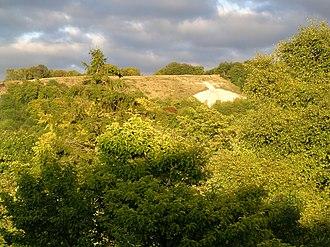 Whiteleaf Cross - Whiteleaf Cross from below