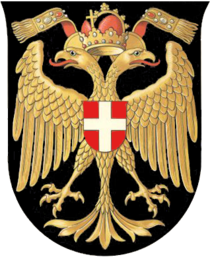 Charmant Wappen Der Reichshaupt  Und Residenzstadt Wien (1461u20131925)