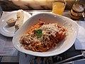 WikiCon 2014-Mittagessen im Restaurant am Montag.jpg