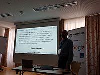 Wikimedia Hackathon 2017-05-19 Fantastic MediaWikis MG 04.jpg