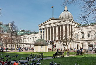 Bloomsbury - The Main Building of University College London.