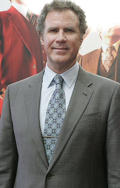 Will Ferrell, American actor, comedian, producer, writer and businessman
